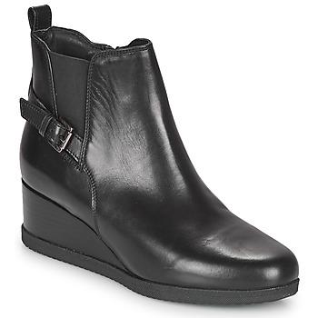 Pantofi Femei Botine Geox ANYLLA WEDGE Negru