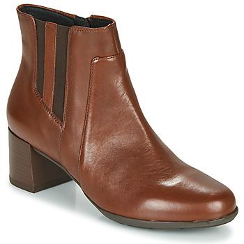 Pantofi Femei Botine Geox NEW ANNYA MID Maro