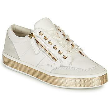 Pantofi Femei Pantofi sport Casual Geox LEELU Alb