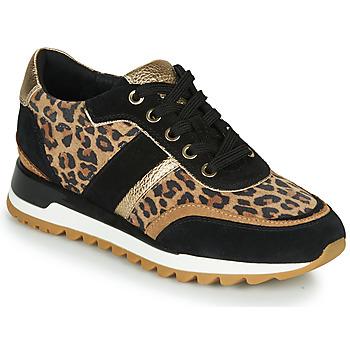 Pantofi Femei Pantofi sport Casual Geox TABELYA Leopard / Negru