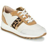 Pantofi Femei Pantofi sport Casual Geox TABELYA Alb / Leopard