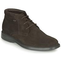 Pantofi Bărbați Ghete Geox BRAYDEN 2FIT ABX Maro