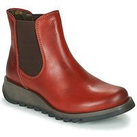 Pantofi Femei Ghete Fly London SALV Roșu