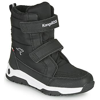 Pantofi Copii Cizme de cauciuc Kangaroos K-MAJOR V RTX Negru