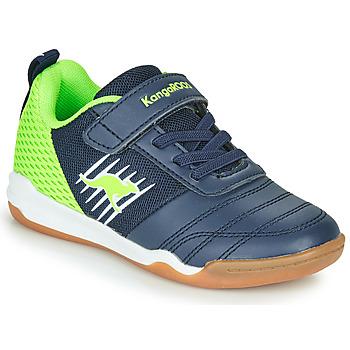 Pantofi Băieți Pantofi sport Casual Kangaroos SUPER COURT EV Albastru / Verde