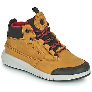Pantofi Băieți Ghete Geox AERANTER ABX Camel