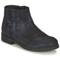 Pantofi Fete Ghete Geox AGGATA Albastru