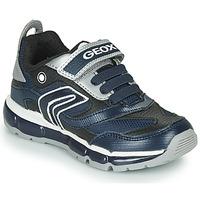Pantofi Băieți Pantofi sport Casual Geox ANDROID Albastru / Argintiu