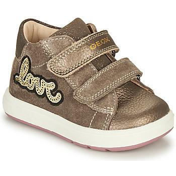 Pantofi Fete Ghete Geox BIGLIA Maro