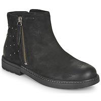 Pantofi Fete Ghete Geox ECLAIR Negru