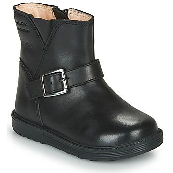 Pantofi Fete Cizme casual Geox HYNDE WPF Negru
