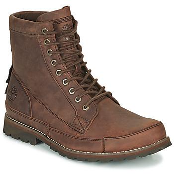Pantofi Bărbați Ghete Timberland ORIGINALS II LTHR 6IN BT Maro