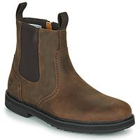 Pantofi Bărbați Ghete Timberland SQUALL CANYON BROG WP CHL Maro