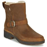 Pantofi Femei Ghete Timberland GRACEYN BIKER WP Maro