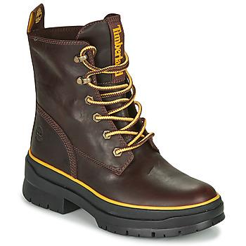 Pantofi Femei Ghete Timberland MALYNN MID LACE EK+ WP Maro / Culoare închisă