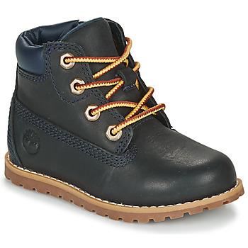 Pantofi Copii Ghete Timberland POKEY PINE 6IN BOOT WITH Albastru