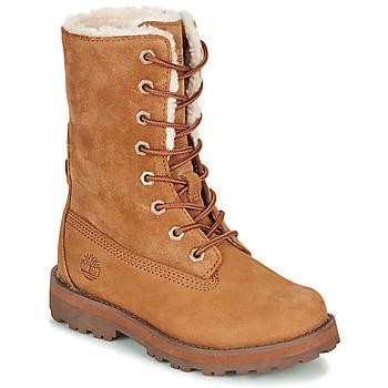 Pantofi Copii Ghete Timberland COURMA KID SHRL RT Maro