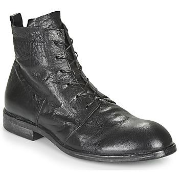 Pantofi Bărbați Ghete Moma PUNTO Negru