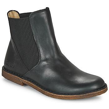 Pantofi Femei Ghete Kickers TINTO Negru