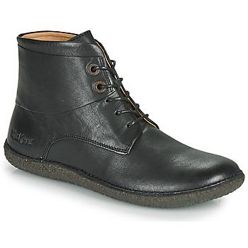 Pantofi Femei Ghete Kickers HOBBYTWO Negru