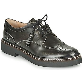 Pantofi Femei Pantofi Derby Kickers OXANYBY Argintiu / Negru