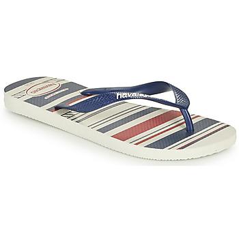 Pantofi Bărbați  Flip-Flops Havaianas TOP NAUTICAL Albastru / Roșu
