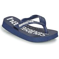 Pantofi Băieți  Flip-Flops Havaianas TOP LOGOMANIA Albastru