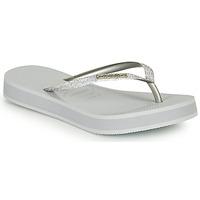 Pantofi Femei  Flip-Flops Havaianas SLIM FLATFORM GLITTER Argintiu