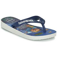Pantofi Băieți  Flip-Flops Havaianas Kids Minecraft Albastru