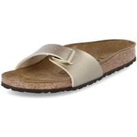 Pantofi Femei Papuci de vară Birkenstock Madrid De aur