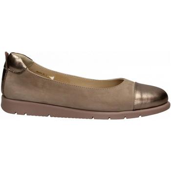 Pantofi Femei Balerin și Balerini cu curea Wave LAMINATO bronzo