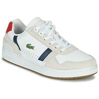 Pantofi Femei Pantofi sport Casual Lacoste T-CLIP 0120 2 SFA Alb / Albastru / Roșu