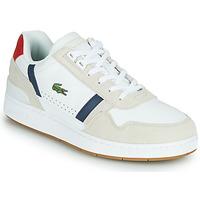 Pantofi Bărbați Pantofi sport Casual Lacoste T-CLIP 0120 2 SMA Alb / Albastru / Roșu