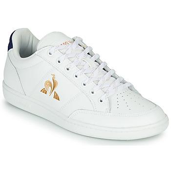 Pantofi Femei Pantofi sport Casual Le Coq Sportif COURT CLAY W Alb / Albastru
