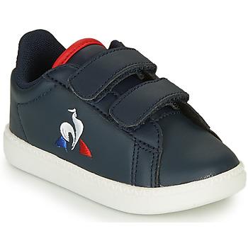 Pantofi Copii Pantofi sport Casual Le Coq Sportif COURTSET INF Albastru
