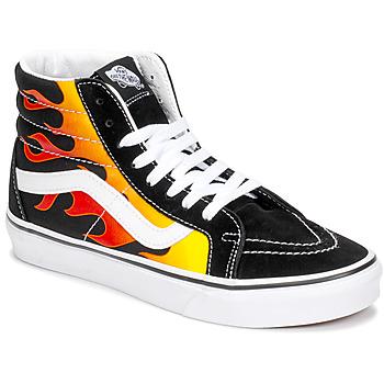 Pantofi Pantofi sport stil gheata Vans SK8-HI REISSUE Negru / Flame