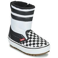 Pantofi Copii Cizme de zapadă Vans YT SLIP-ON SNOW BOOT MTE Negru / Alb