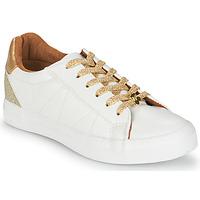 Pantofi Femei Pantofi sport Casual Le Temps des Cerises VIC Alb / Auriu