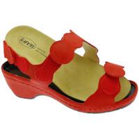 Pantofi Femei Sandale  Calzaturificio Loren LOE687ro rosso