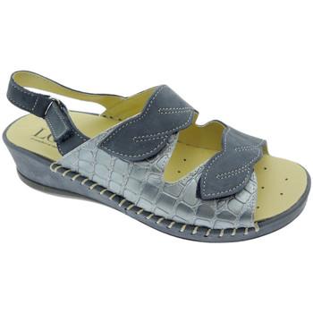 Pantofi Femei Sandale  Calzaturificio Loren LOM2817bl blu