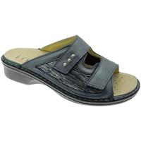 Pantofi Femei Papuci de vară Calzaturificio Loren LOM2824bl blu