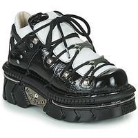 Pantofi Femei Pantofi sport Casual New Rock M-106N-S76 Negru / Alb