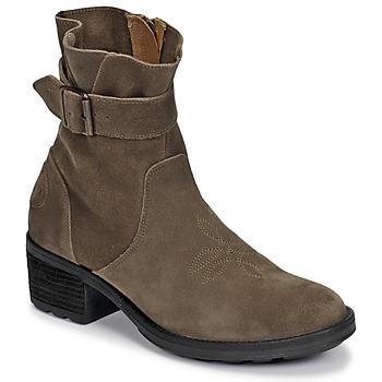 Pantofi Femei Botine Palladium Manufacture MARGO 04 SUD Kaki