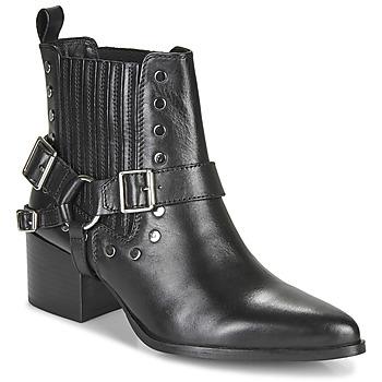 Pantofi Femei Botine Les Tropéziennes par M Belarbi KIMIKO Negru