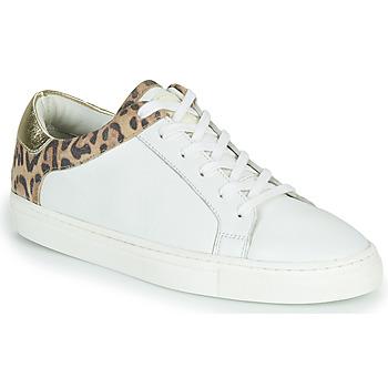 Pantofi Femei Pantofi sport Casual Les Tropéziennes par M Belarbi Louane Alb / Leopard