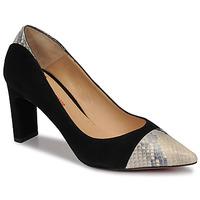 Pantofi Femei Pantofi cu toc Perlato JAMIRI Negru / Bej