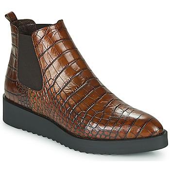Pantofi Femei Ghete Perlato JAMINO Maro