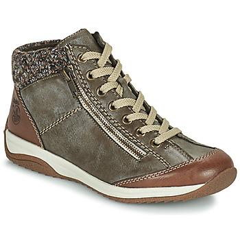 Pantofi Femei Ghete Rieker L5223-24 Maro
