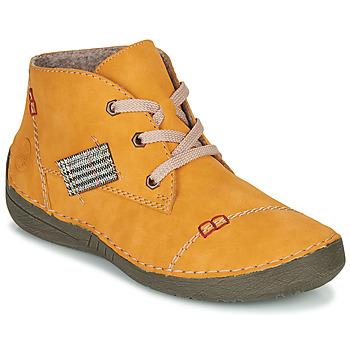 Pantofi Femei Ghete Rieker 52543-69 Galben