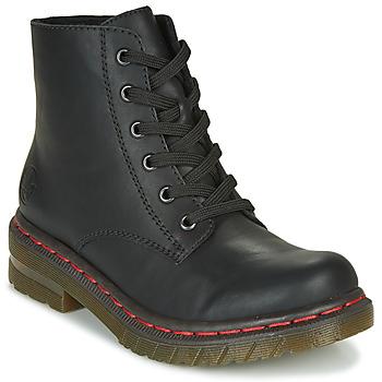 Pantofi Femei Ghete Rieker 76240-00 Negru